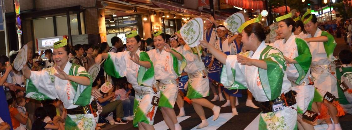 京都・友禅染工場のオーダーメイド。1着から作れる阿波踊り衣装